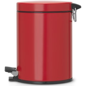 Brabantia Pedalspand 5 liter, passion red