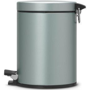 Brabantia Pedalspand 5 liter, metallic mint