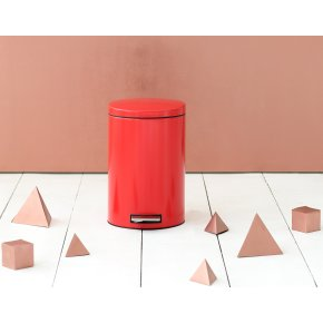 Brabantia Pedalspand 12 liter, passion red