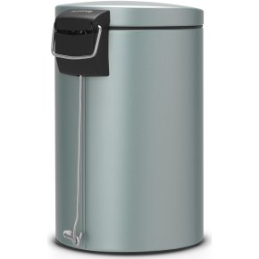 Brabantia Pedalspand 12 liter, metallic mint