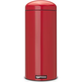 Brabantia Retro Pedalspand 30 liter, passion red
