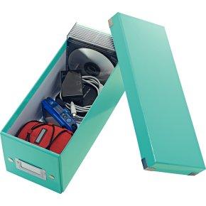 Leitz Click & Store CD-boks, isblå