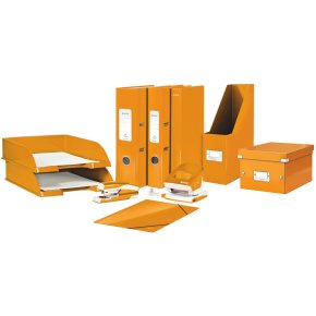 Leitz WOW Click & Store DVD-boks, orange