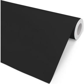 Gavepapir Ensfarvet Sort, 57 cm x 154 m