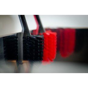 Plast Team Opvaskebørste m. magnet, sort