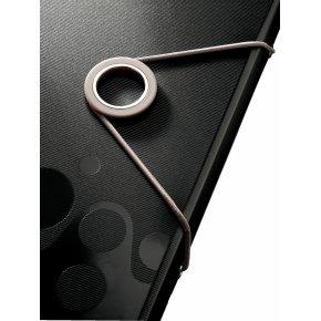 Leitz Bebop elastikmappe A4, PP, sort