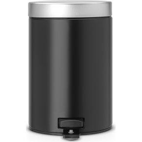 Brabantia Pedalspand 3 liter, matt black