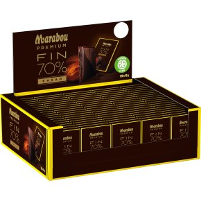 Marabou Premium Dark mini 10g, 120 stk