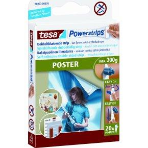 tesa Powerstrips Poster, 20 stk.