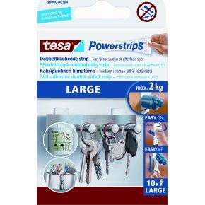 tesa Powerstrips Large, 10 stk.