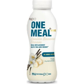 Nupo One Meal Shake vanilje & banan, 330 ml