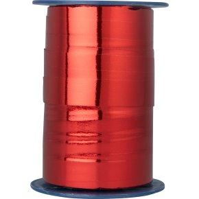 Gavebånd Metallic Rød 15 mm, 100 m