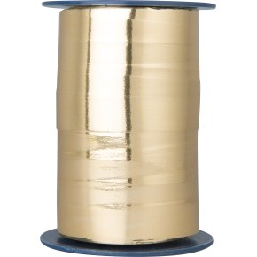 Gavebånd Metallic Guld 15 mm, 100 m