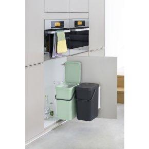 Brabantia Sort&Go Indbygningsspande 2x16 liter