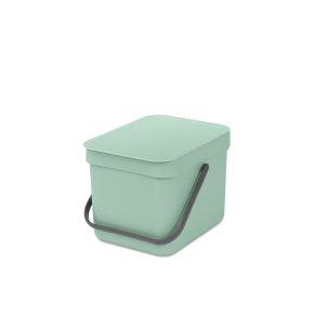 Brabantia Sort&Go Sorteringsspand 6 liter, mint
