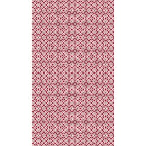 Gavepapir Tiny rød, 57 cm x 154 m