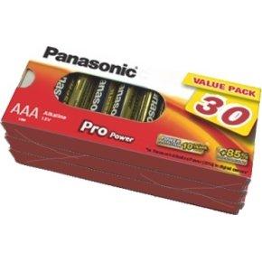 Panasonic str. AAA Pro Power Gold batteri, 30 stk