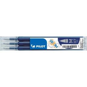 Refill til Pilot Frixion Clicker, blåsort, 3 stk.