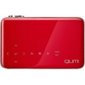 Vivitek Qumi Q6, mini projektor, rød