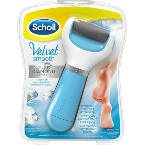Scholl Velvet Smooth Diamond Crystal fodfil