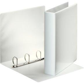 Esselte Indstiksringbind A4, 4 DR, 63 mm, hvid