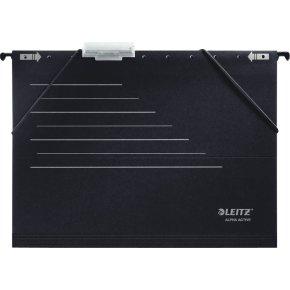 Leitz Alpha Active hængemappe, sort