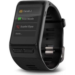 Garmin Vivoactive Smartwatch, sort