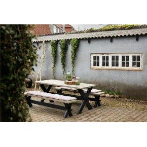 Plus Nostalagi Plankesæt, Sort/Gråbrun
