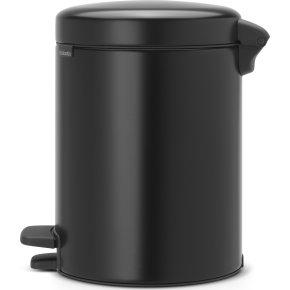 Brabantia Pedalspand, 5 L, matt black