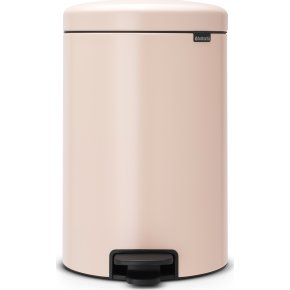 Brabantia Pedalspand, 20 L, clay pink