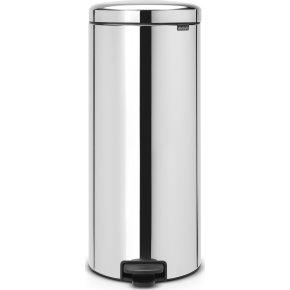 Brabantia Pedalspand, 30 L, brilliant steel