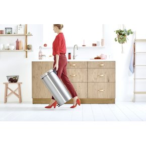 Brabantia Pedalspand, 30 L, passion red