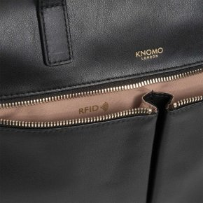 "Knomo London Audley 14"" slim computertaske"