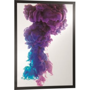 Durable DURAFRAME Poster A1, sort, 1 stk.