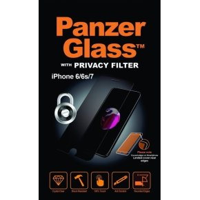 PanzerGlass privacyfilter til iPhone 6/6S/7