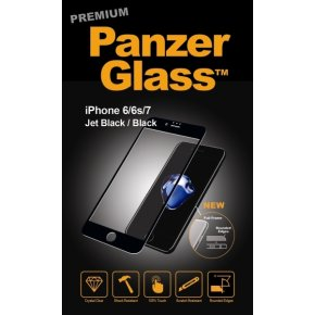PanzerGlass PREMIUM iPhone 6/6S/7 Jet Black
