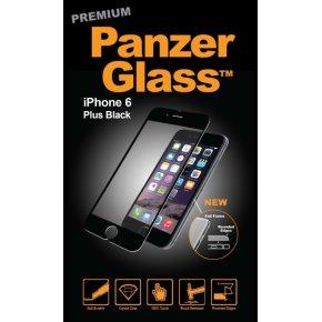 PanzerGlass PREMIUM iPhone 6/6S+ Sort - 3D Touch