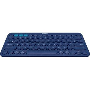 Logitech K380 Bluetooth Keyboard(Nordisk), blåt