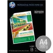 HP CG966A blank laserfoto, A4/200g/100ark