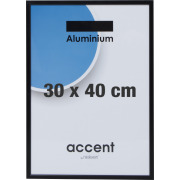Accent Skifteramme 30 x 40 cm, sort