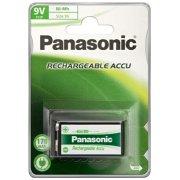Panasonic str. 9V P22P genopladeligt batteri