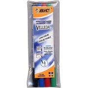 Bic whiteboardmarkersæt 4 farver, 1,2 mm
