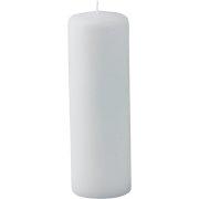 Bloklys 6 x 18cm, hvid