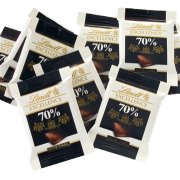 Lindt mørk 70% chokolade, 200stk