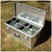 Lærlinge kasse, Alu, 80x40x33 cm