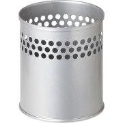 Penneholder metal m. huller, sølv