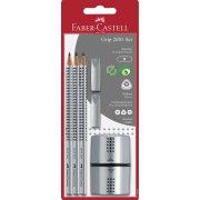 Faber-Castell Grip 2001 sæt, grå