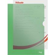 Copysafe omslag A4, PP, 0,11mm, 100stk, grøn