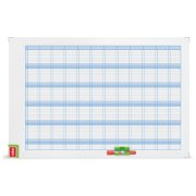 Whiteboardplanlægningstavle årsplan 91x69 cm