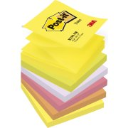 Post-it Z-Notes 76 x 76 mm, neon regnbue